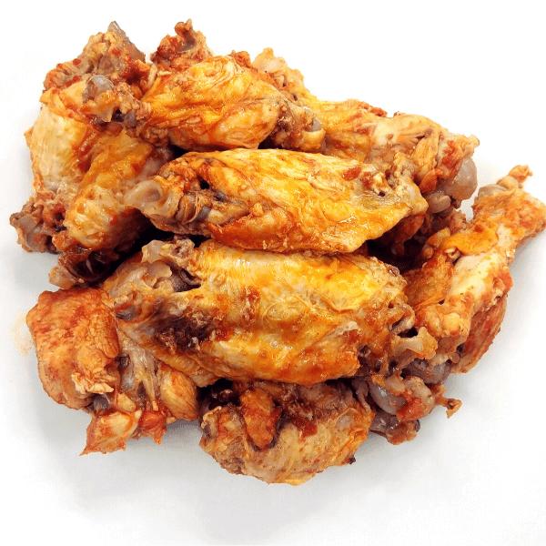 Fall-Off The Bone Baked Buffalo Chicken Wings Recipe 4 of 4
