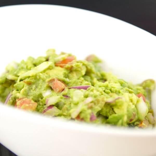 Homemade Guacamole Raw Onion Pickled Jalapenos Recipe 2 of 3