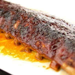 Saucy BBQ Fall Off The Bone Oven Baked Ribs 2 of 3
