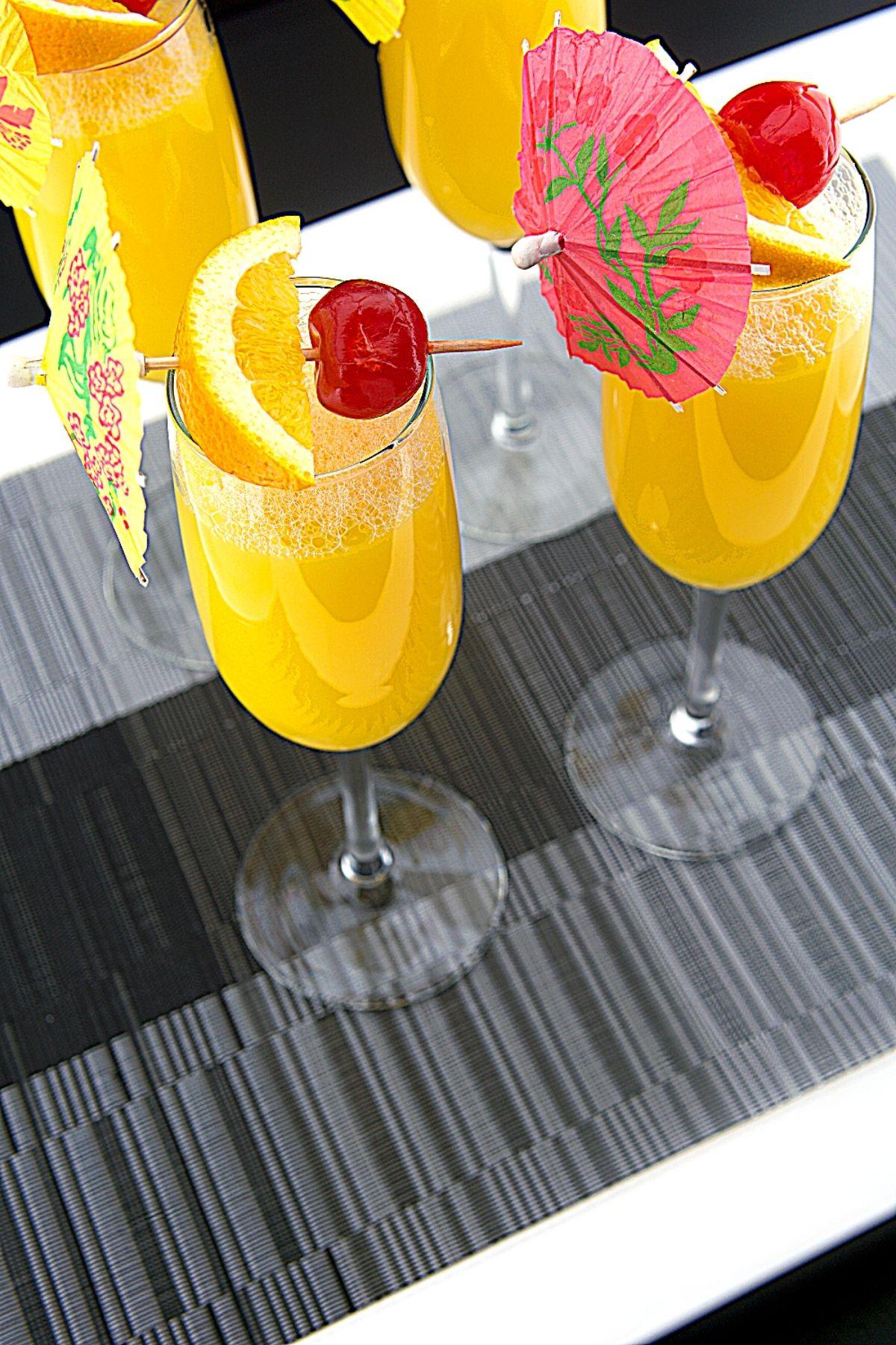Orange Juice Dirty Orange Mimosa Brunch Cocktails Recipe 7 of 7