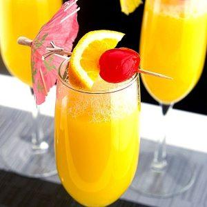 Orange Juice Mimosa Brunch Cocktails Recipe 1 of 6