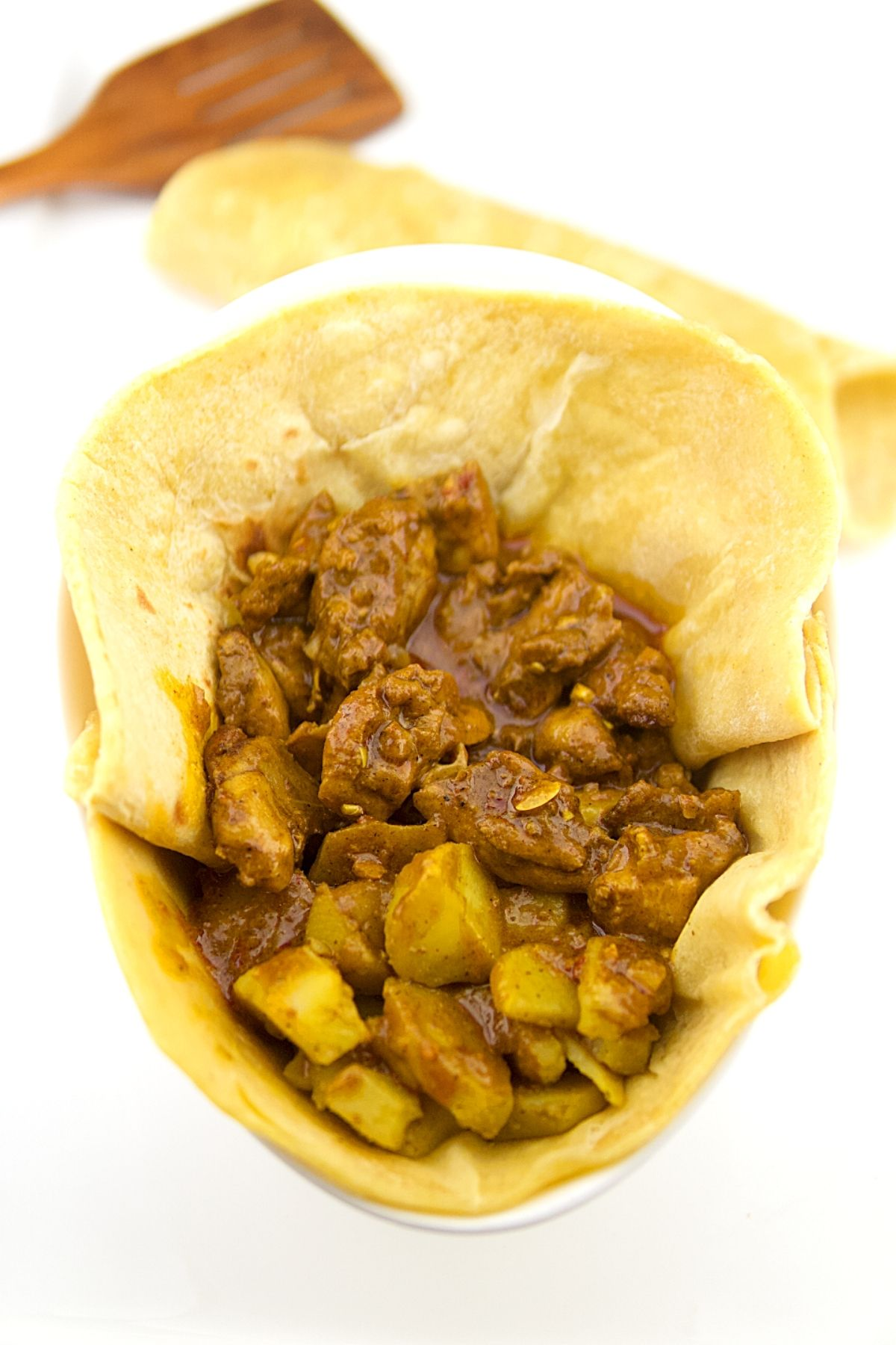 Curry Chicken Roti 1 of 12