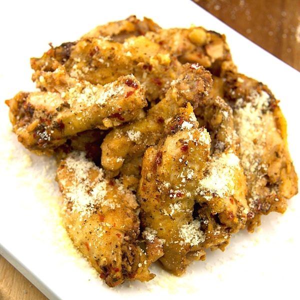 Garlic Parmesan Chicken Wings Off The Bone Recipe 1 of 5