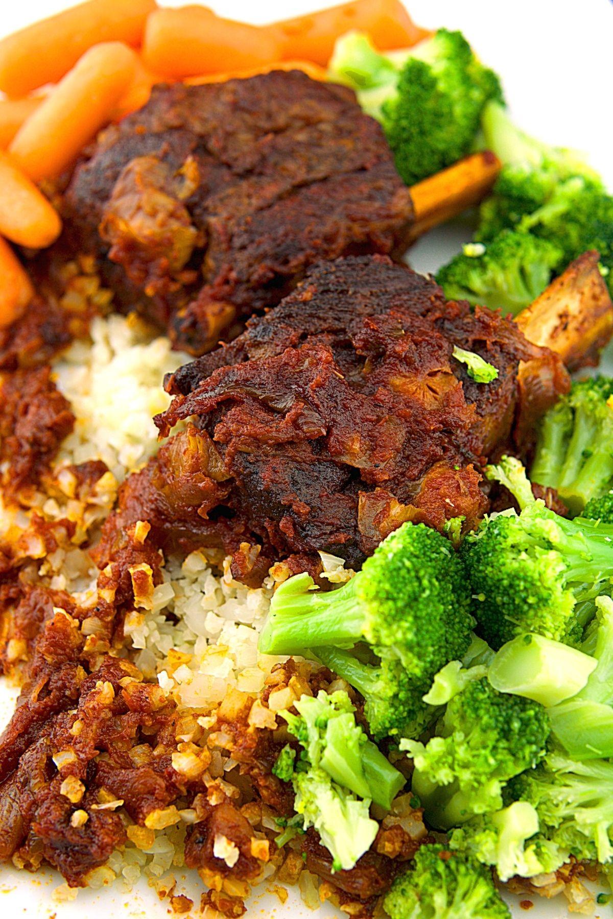 BBQ Braised Short Ribs Fall Off The Bone Beef Ribs Recipe 1 of 10