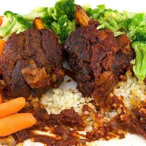BBQ Braised Short Ribs Fall Off The Bone Beef Ribs Recipe 2 of 10