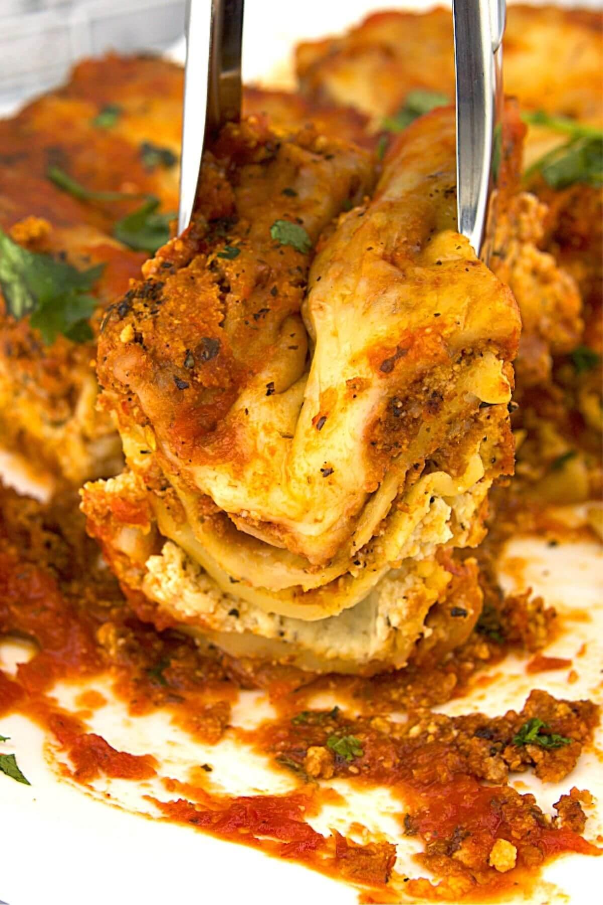 Easy Homemade Oven Ready Lasagna 4 of 5