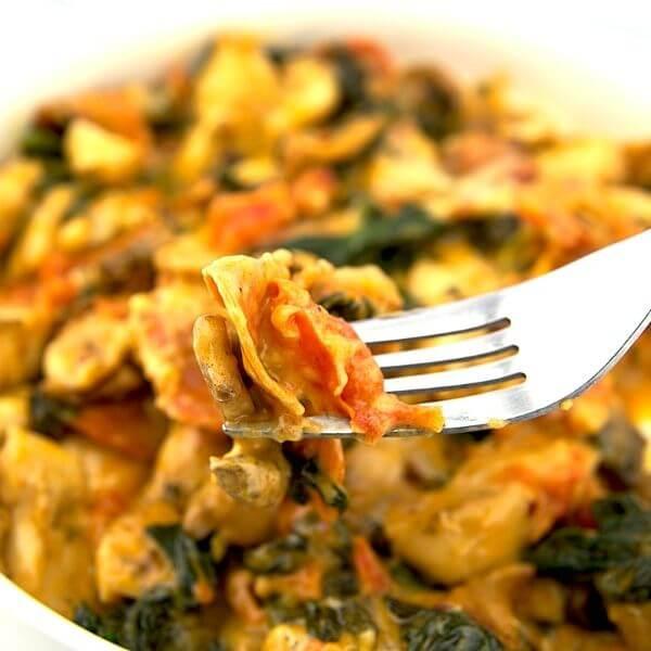 Spinach Mushroom And Tomato Chipotle Dip Recipe 1 of 6
