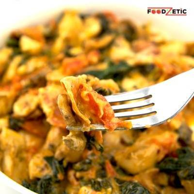 Spinach Mushroom And Tomato Chipotle Dip Recipe 2 of 5a