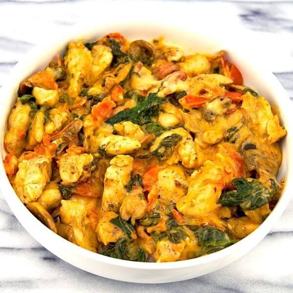 Spinach Mushroom And Tomato Chipotle Dip Recipe 2 of 6