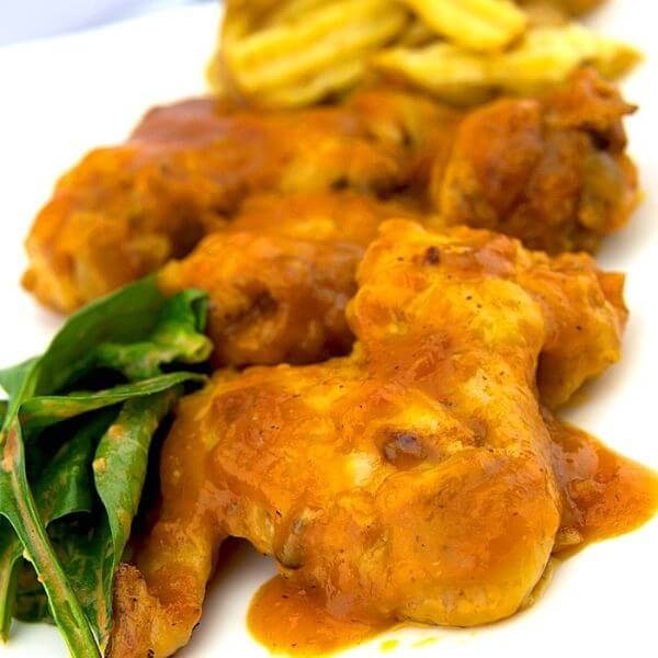 Sweet And Spicy Mango Wings Sauce BBQ Recipe 1 of 6