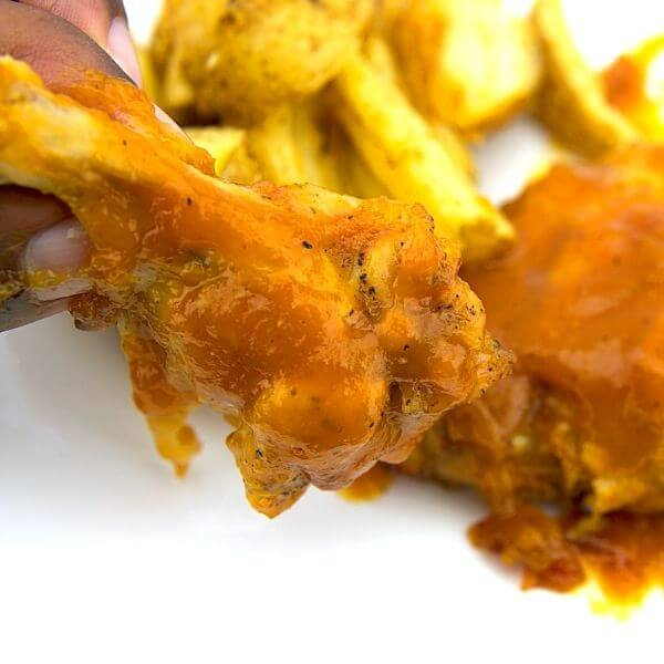 Sweet And Spicy Mango Wings Sauce BBQ Recipe 2 of 6