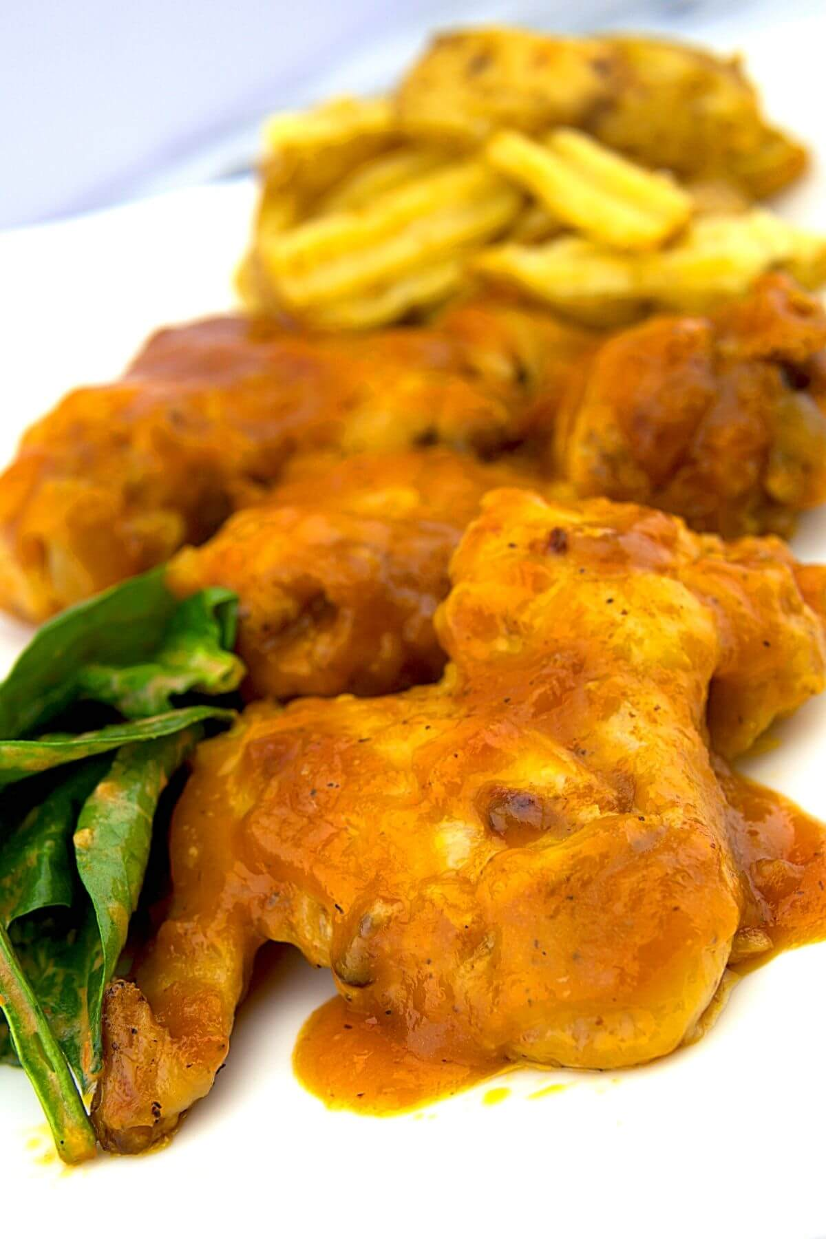 Sweet And Spicy Mango Wings Sauce BBQ Recipe 3 of 6