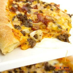 Bacon Cheese Burger Pizza Lover Stuffed Crust 1A