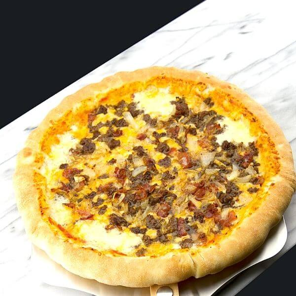 Bacon Cheese Burger Pizza Lover Stuffed Crust 4 of 10