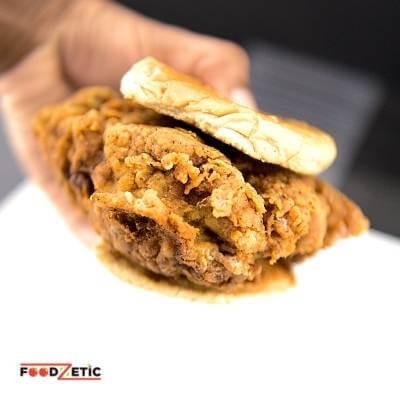 Crispy Chicken Sandwich The Chicken Burger 2 of 5