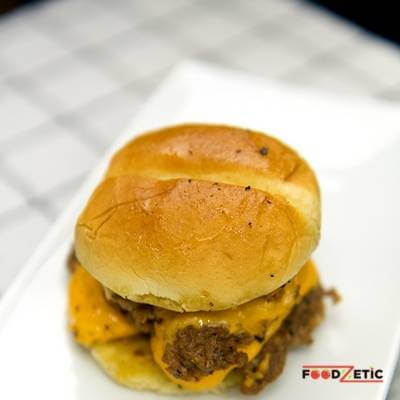 Double Cheese Burger 1 of 2