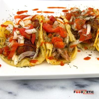 Bone-In Pork Rib Tacos 2C