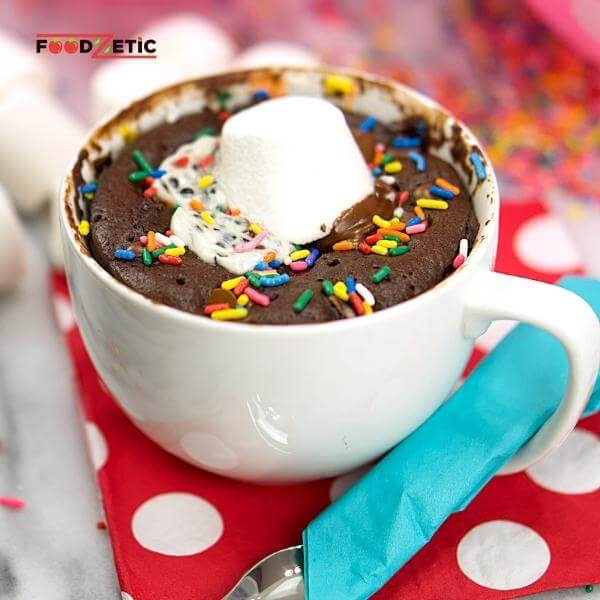 Chocolate Mug Cake Recipe 1 of 7