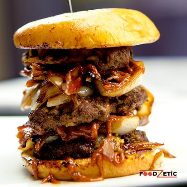 Chipotle Peanut Butter Sweet Bacon Burger 2 of 2